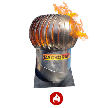 Backdraft Fire Rated Ventilator