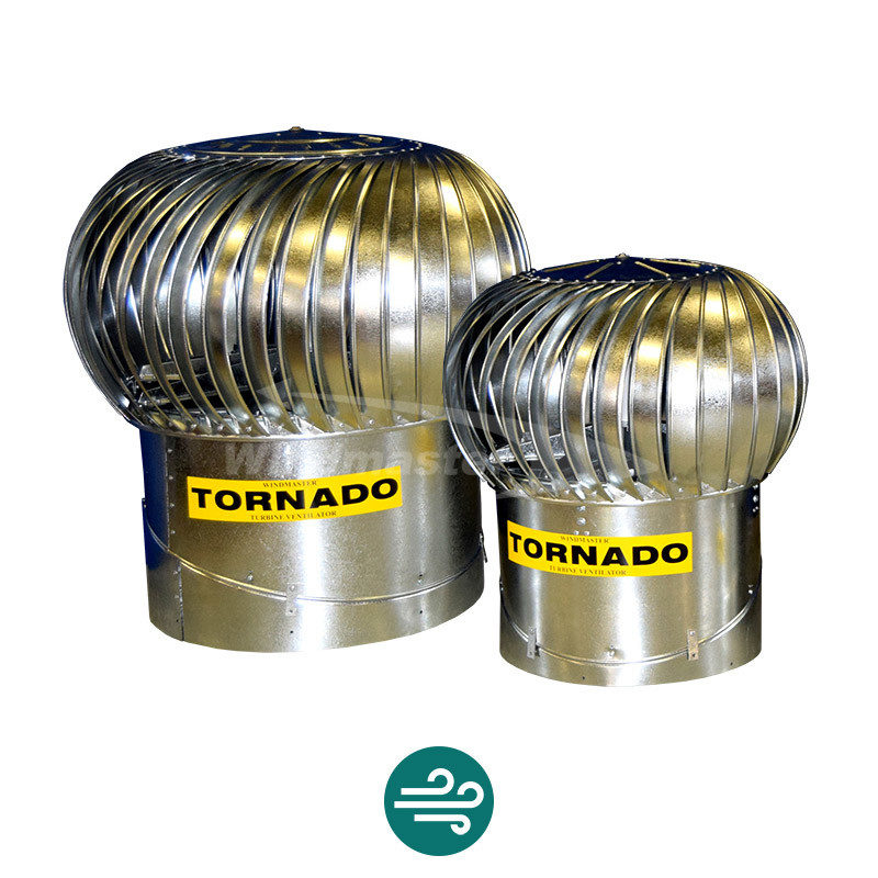 Tornado Industrial Roof Ventilation