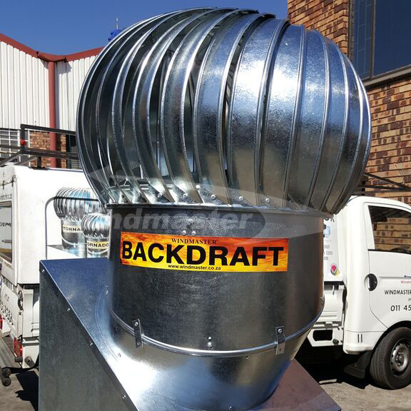 Back Draft Fire Rated Ventilator