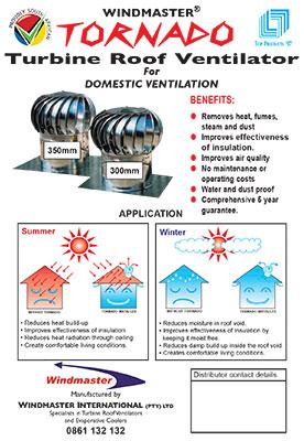 Windmaster Tornado Domestic Ventilation Brochure