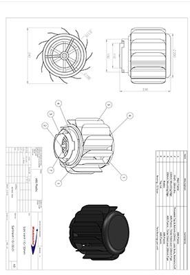 Sani Vent 110-150mm Spec Sheet